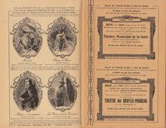 Hachette L'almanach Supplément Bons De Réduction Pour Le Théâtre Complet En 16 Pages - Programma's