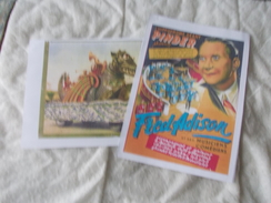 COPIE De Lots De Documents En Rapport Avec Le Cirque Pinder Illustrations Dont Fred Adison - Vecchi Documenti