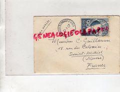 55-SAINT MIHIEL - ENVELOPPE PAR AVION NORVEGE OSLO - CONSUL H. SVERRE -1967- A GEORGES GUILLAUME - Historical Documents