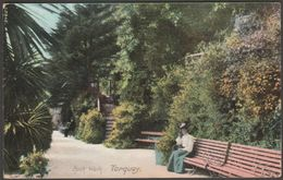 Rock Walk, Torquay, Devon, 1906 - Frith's Postcard - Torquay