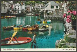 Inner Harbour, Polperro, Cornwall, C.1970s - John Hinde Postcard - England