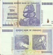Zimbabwe - 10 Bilion Dollars - 2008 - Circulated - Very Good Prices See Photos - Zimbabwe