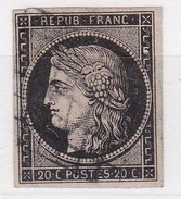 FRANCE YT N° N° 3 CERES - 1849-1850 Cérès