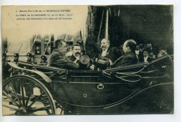 44 ST SAINT NAZAIRE Edit Vassellier 1- Sept 1907 Inauguration Nouvelle Entrée Port Arrivée Ministres Gare    /D20-2017 - Saint Nazaire