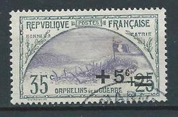 FRANCE 1922 . N° 166 Oblitéré - France