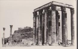 AN84 Athenes, Temple De Jupiter, Olympie - RPPC - Greece