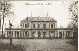 CPA - 37 - CHATEAU-RENAULT - La Gare    - - Autres Communes
