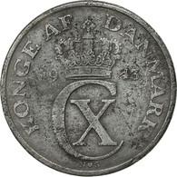 Danemark, Christian X, 5 Öre, 1943, Copenhagen, TB+, Zinc, KM:834a - Denmark