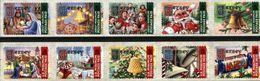 JERSEY, 2001, CHRISTMAS, YV#1000-09, MNH - Navidad