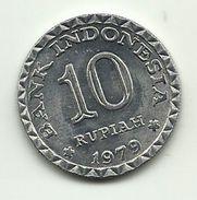 1979 - Indonesia 10 Rupia, - Indonesia