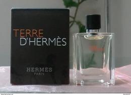 TERRE D' HERMES - EDT 5 ML De HERMES - Mignon Di Profumo Uomo (con Box)