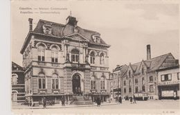 Cpa Capellen - Kapellen Maison Communale. Animée. Gemeentehuis.X.O 802 Uitg.C.Antheunissens - Kapellen