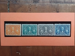 CINA - 25° Anniversario Poste Nn. 175/78 Yvert Nuovi */** + Spese Postali - 1912-1949 Republic