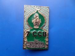7 CCB , Insigne A Identifier , Insigne , Insigne Genie  , FIA Lyon - Armée De Terre