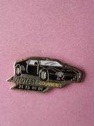 PIN'S   AUTOTEST  COURRIERES   -  Automobile, Divers  (174) - Badges