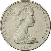 Nouvelle-Zélande, Elizabeth II, 10 Cents, 1980, TTB+, Copper-nickel, KM:41.1 - Nouvelle-Zélande