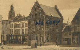 Tienen :  Rue Neuve Et Maison Du Docteur Gillis : Datant De 1650 ( Geschreven 1912 Met Zegel ) - Tienen