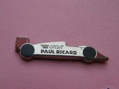 PIN'S   CIRCUIT  PAUL-RICARD    -  Automobile, Divers  (179) - Badges