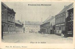 Pays Div-ref K290- Belgique - Frasnes Lez Buissenal - Place De La Station - Carte Bon Etat - - Ohne Zuordnung