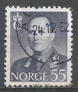 Norway 1959. Scott #365 (U) King Olav V, Roi - Norvège