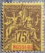 NOSSI BE - YT N°38 - Neuf Sans Gomme - 1894 - Nossi-Bé (1889-1901)