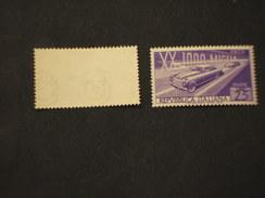 ITALIA REPUBBLICA - 1953 AUTO, Filigrana NS - NUOVI(++) - 1946-.. République