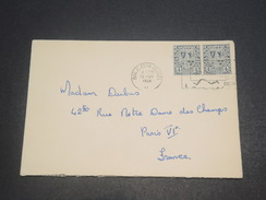 IRLANDE - Enveloppe Pour Paris  En 1964 , Affranchissement Et Oblitération Plaisants -  L 11573 - 1949-... Republic Of Ireland
