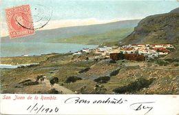 Pays Div-ref K276- Espagne - Espana - Spain - Islas Canarias - Iles Canaries - San Juan De La Rambla  - - Espagne