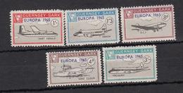 SARK 1965 Set 5 -Europa 1965 - Unmounted Mint NHM - Guernsey