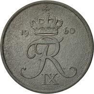 Danemark, Frederik IX, 5 Öre, 1960, Copenhagen, TB+, Zinc, KM:843.2 - Denmark