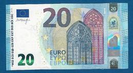 EURO - ITALIA - 2015 - BANCONOTA DA 20 EURO DRAGHI SERIE SD (S010D3) - NON CIRCOLATA (FDS-UNC) - IN OTTIME CONDIZIONI. - EURO