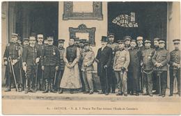 SAUMUR - S.A.I. Prince Tsi-Tao Visitant L'Ecole De Cavalerie, Chine - Saumur
