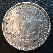 "USA 1 DOLLAR 1921 SILVER  ""MORGAN"" (free Shipping Via Registered Air Mail) - Émissions Fédérales"
