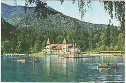Tusnad - Lacul Ciucas - Lake Ciucas - Boating - (Roemenie) - Roemenië