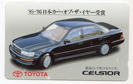 TELECARTE JAPON VOITURE TOYOTA CELSIOR - Cars