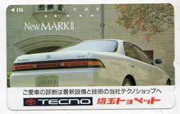 TELECARTE JAPON VOITURE TOYOTA MARK II - Cars