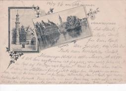 PAYS-BAS 1896 CARTE POSTALE DE S'GRAVENHAGE  ( DEN HAAG) - Den Haag ('s-Gravenhage)