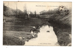 50 MANCHE - DONVILLE Les Bords De La Rivière, Lavandières (voir Descriptif) - Andere Gemeenten