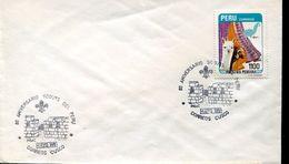 29593 Peru, Special Postmark Cusco 80th Anniversary Of The Scouts Of Peru - Scouting