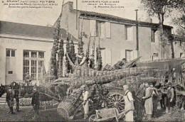 86 POITIERS  Bruant Horticulteur : Chargement Pour La Gare Devant Lezs Bureaux - Poitiers