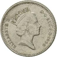 Grande-Bretagne, Elizabeth II, 5 Pence, 1990, TTB, Copper-nickel, KM:937 - 1971-… : Monnaies Décimales