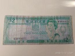 2 Dollars 1988 - Figi