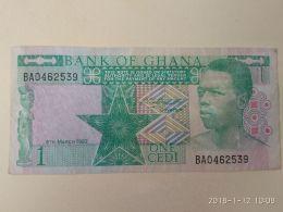 1 Cedi 1982 - Ghana