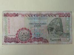 2000 Cedis 1995 - Ghana