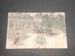 ESPAGNE - Oblitération De Barcelone Sur Carte De Corrida En 1906 -  L 11621 - Cartas