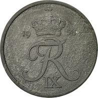 Danemark, Frederik IX, 5 Öre, 1958, Copenhagen, TB, Zinc, KM:843.2 - Denmark