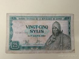 25 Sylis 1960 - Guinea