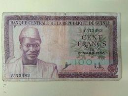 100 Francs 1960 - Guinea