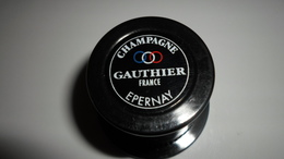 BOUCHONS A CHAMPAGNE BOUCHON BULLE HERMETIQUE CHAMPAGNE GAUTHIER EPERNAY **** A SAISIR - Other Collections