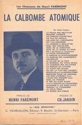 """Partition """" La Calbombe Atomique Les Chansons De Henri Farémont - Music & Instruments"""